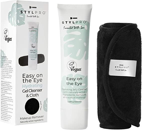 STYLPRO Easy on the Eye gel desmaquillante limpiador, hidratante y ...