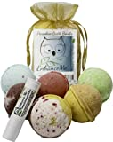 Amazon Price History for:Valentine Gift Set, w/FREE Lip Balm, Bath Bombs from Enhance Me, Organic Sustainable Palm Oil, Handmade in USA with Shea Butter, Coconut Oil, 6 Bomb Gift Set, 'See, Smell, & Feel the Difference'
