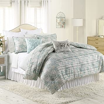 Amazon.com: LC Lauren Conrad Meadow Comforter Set, Floral (Full ...
