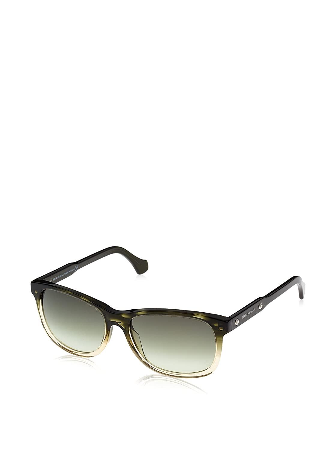 gradient green Sunglasses Balenciaga BA 19 BA0019 98P dark green//other