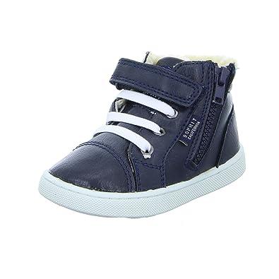 free shipping 7fd09 4e08a ESPRIT 076EKKW005 Kinder Halbschuh Sneaker Gefüttert Klettverschluss Blau  (Navy)
