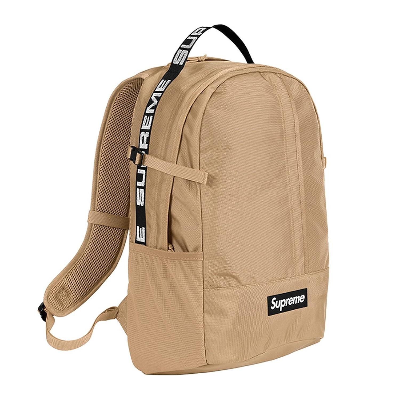 Supreme シュプリーム リュック Cordura Backpack 24L バックパック コーデュラ SS18B7 B07CV8N5RHベージュ Free