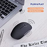 VicTsing [Upgraded] Slim Wireless Mouse, 2.4G