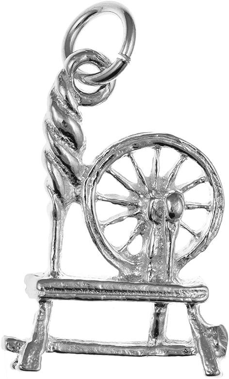 Spinning Wheel tradicional Enlace Encanto – Plata de Ley 925 – se envía en caja de regalo gratis o bolsa de regalo: Amazon.es: Joyería