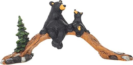 DEMDACO Big Sky Carvers Life is Simple Bear Figurine