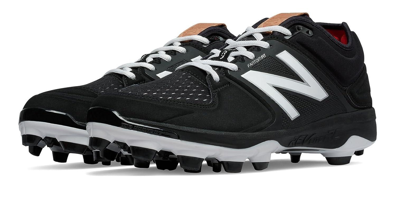 (ニューバランス) New Balance 靴シューズ メンズ野球 Low-Cut 3000v3 TPU Molded Cleat Black with White ブラック ホワイト US 14 (32cm) B01J5BUFN6