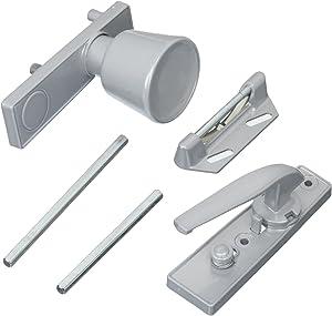 Stanley Hardware 11-1433 Stanley Standard Duty Door Knob Latch, Aluminum, Coated, Clear