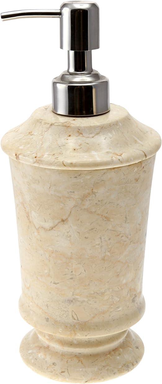 Creative Home Pedestal Marble Soap Dish Champagne