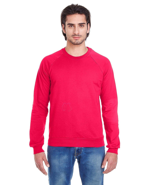 American Apparel 5454 Men's Fleece Raglan Sweatshirt M38656
