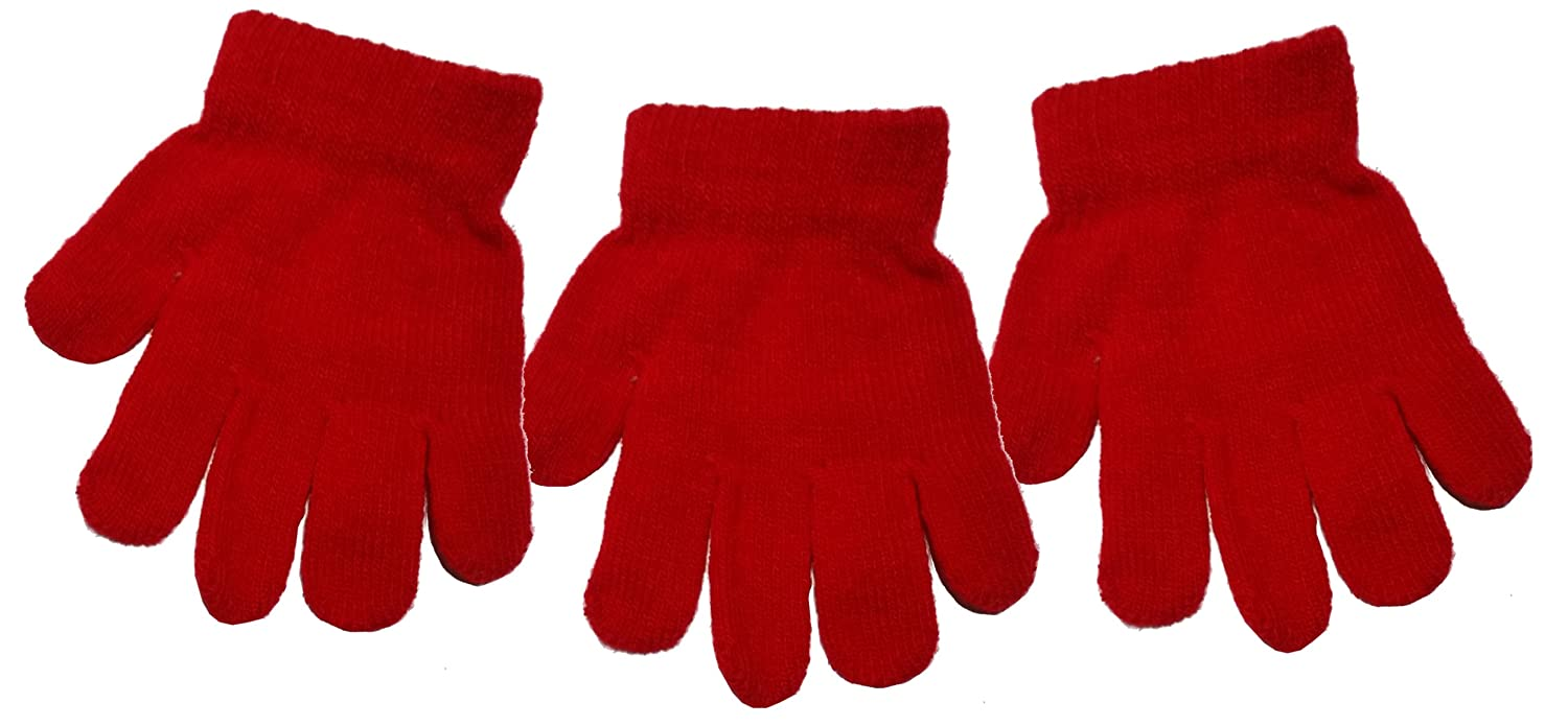 Children's Magic Gloves Full Finger (Pack of 3)