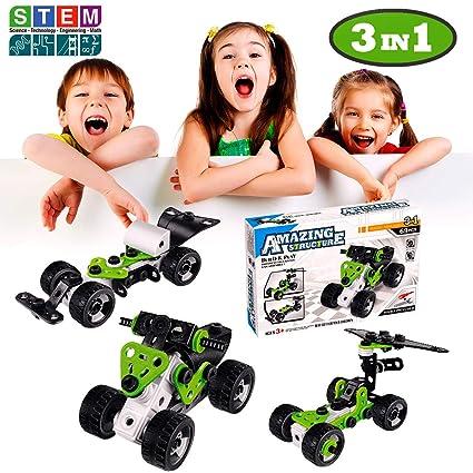 6244d572a298 DEVAN Building Toys STEM Toys Construction Engineering Building-69pcs 3-in-1  Model
