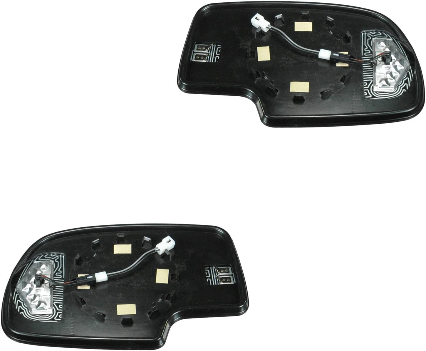 Fits Escalade Avalanche Suburban Left Dr Mirror Glass Fit Over for Auto Dim Type