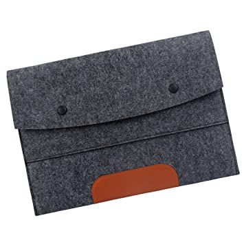 cbaea6ea1547 Amazon.com: 10.6'' Felt Protective Case Cover Sleeve Bag for MacBook ...