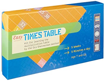Amazon.com: Easy Times Table - Multiplication Game for Kids Ages 7 ...