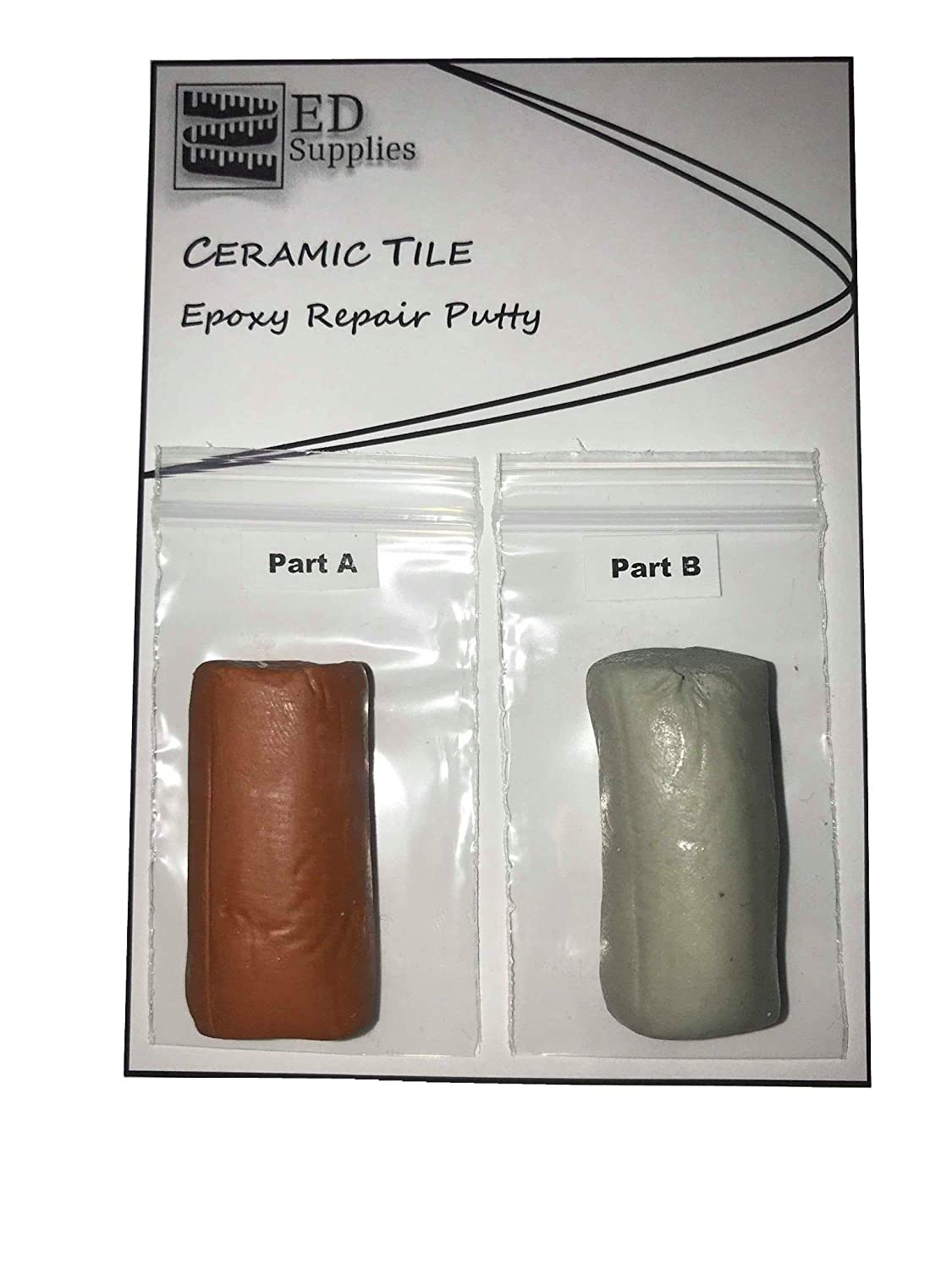 38g Cracks Terracotta Floor /& Wall Ceramic Tile Epoxy Repair Putty Defects /& Similar Damage Repairs Chips