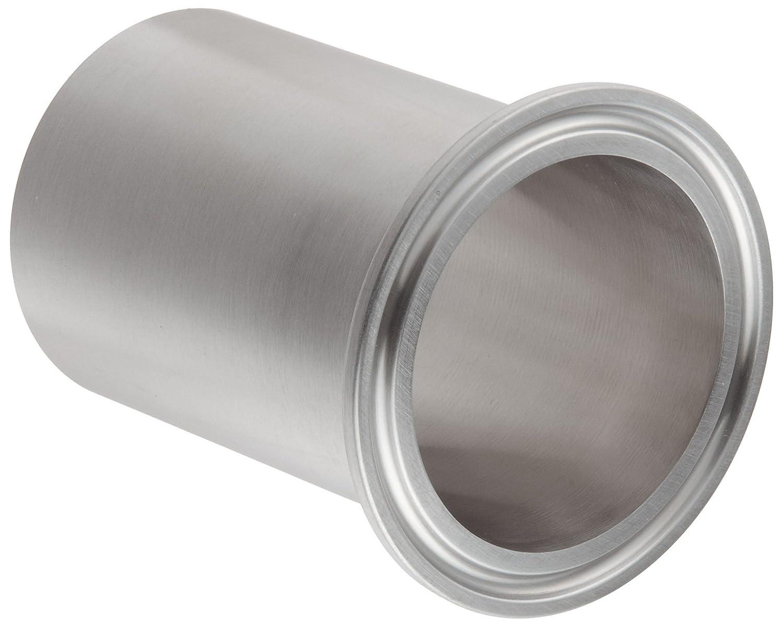 Dixon 14WLMP-G200 Stainless Steel 304 Sanitary Fitting 2 Tube OD 2 Tube OD Dixon Valve /& Coupling Light Duty Tank Weld Clamp Ferrule