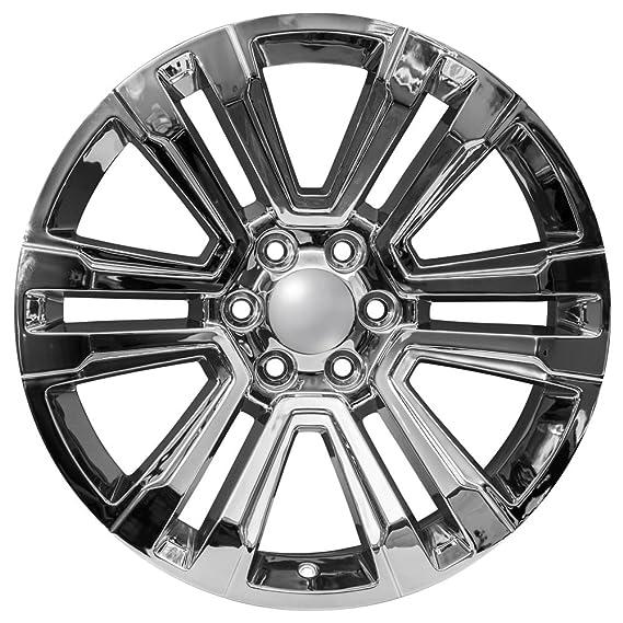 22 Cadillac Escalade Ck158 Oem Factory Style Chrome Wheels Rims 4741