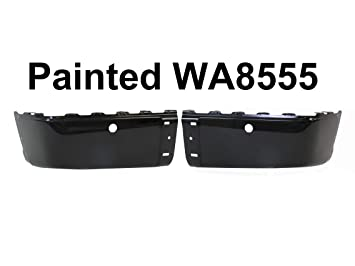 FOR 2009-2014 FORD F150 STYLESIDE REAR BUMPER END BLACK W//O SENSOR HOLE LH NEW
