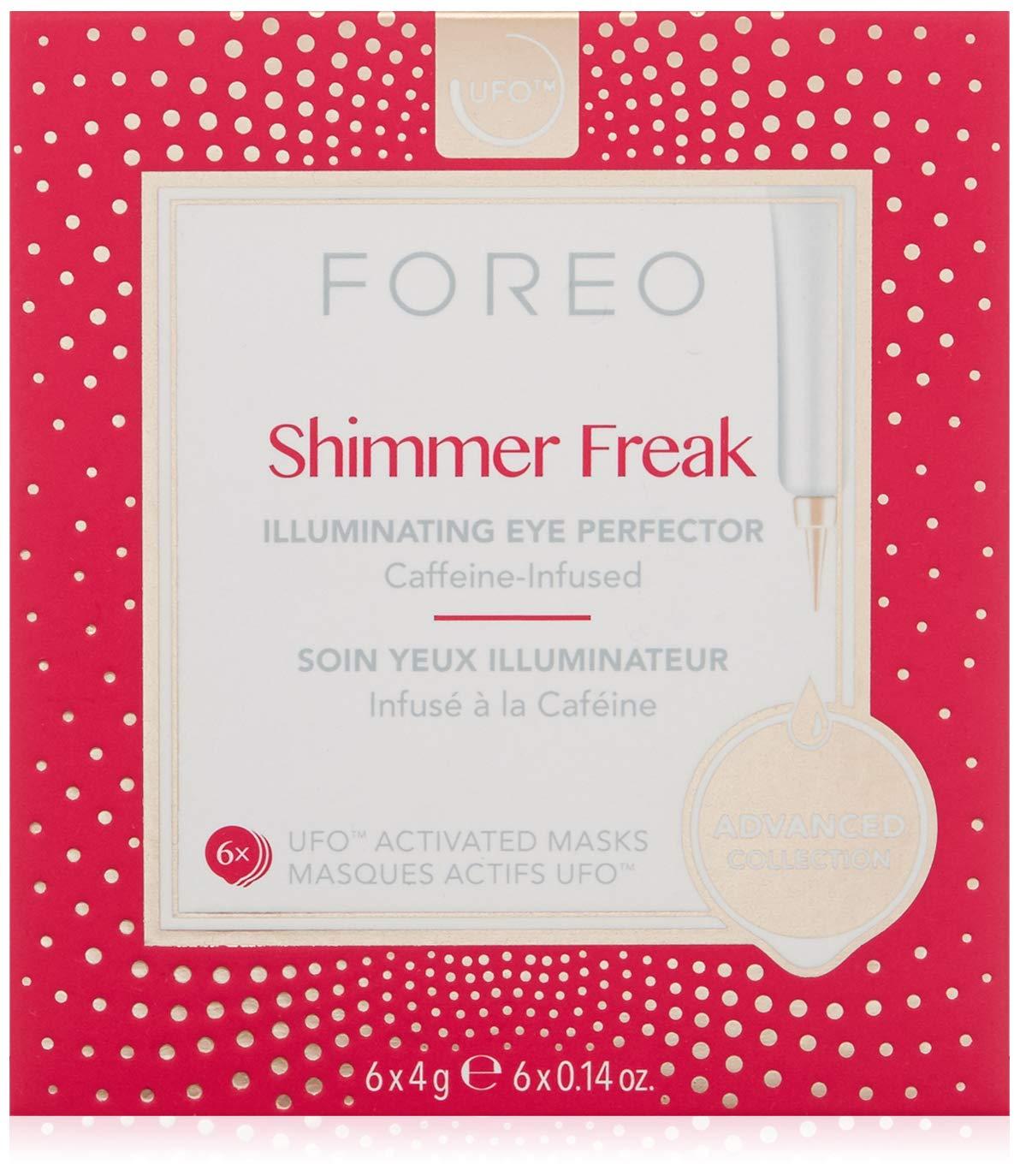 FOREO Shimmer Freak Ufo-Activated Mask, 6 Pack: Amazon.co.uk: Luxury ...