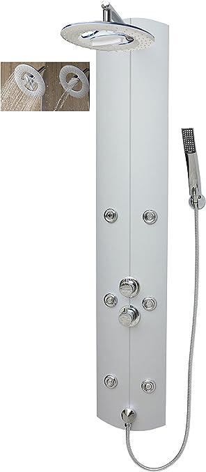 Columna de ducha con termostato ducha grifo ducha sistema cascada ...