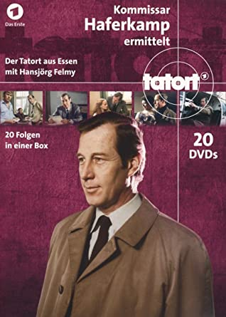 Tatort Kommissar Haferkamp Komplett Box 20 Dvds Amazonde