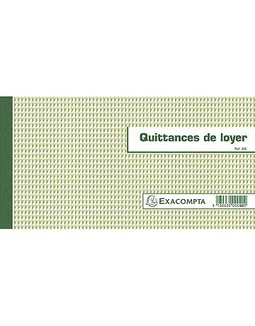 Amazon Fr Carnets De Recus Et De Quittance De Loyer Fournitures