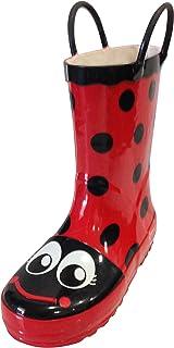 Amazon.com: Kidorable Ladybug Rain Boots: Baby