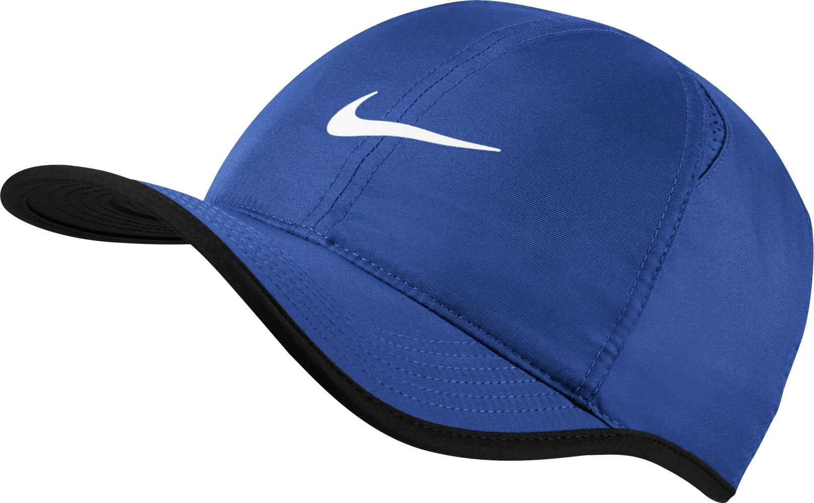 Nike Feather Light Tennis Hat (Game Royal/Black/White, One Size)