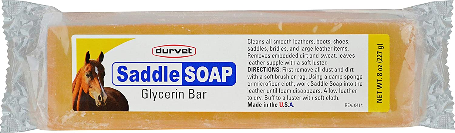 Durvet Saddle Soap Glycerin Bar for Leather
