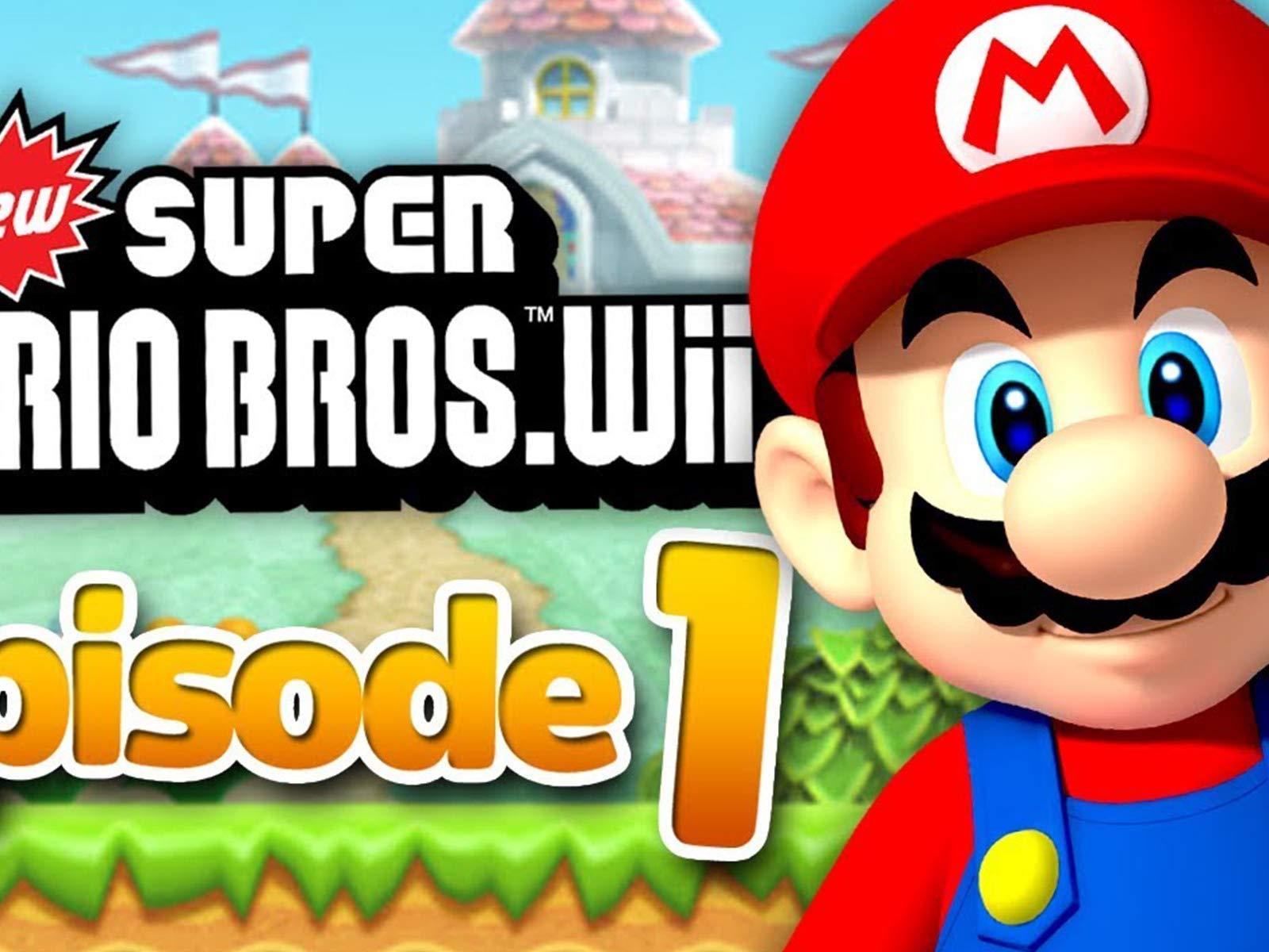 Amazon Com Watch Clip New Super Mario Bros Wii Gameplay Zebra
