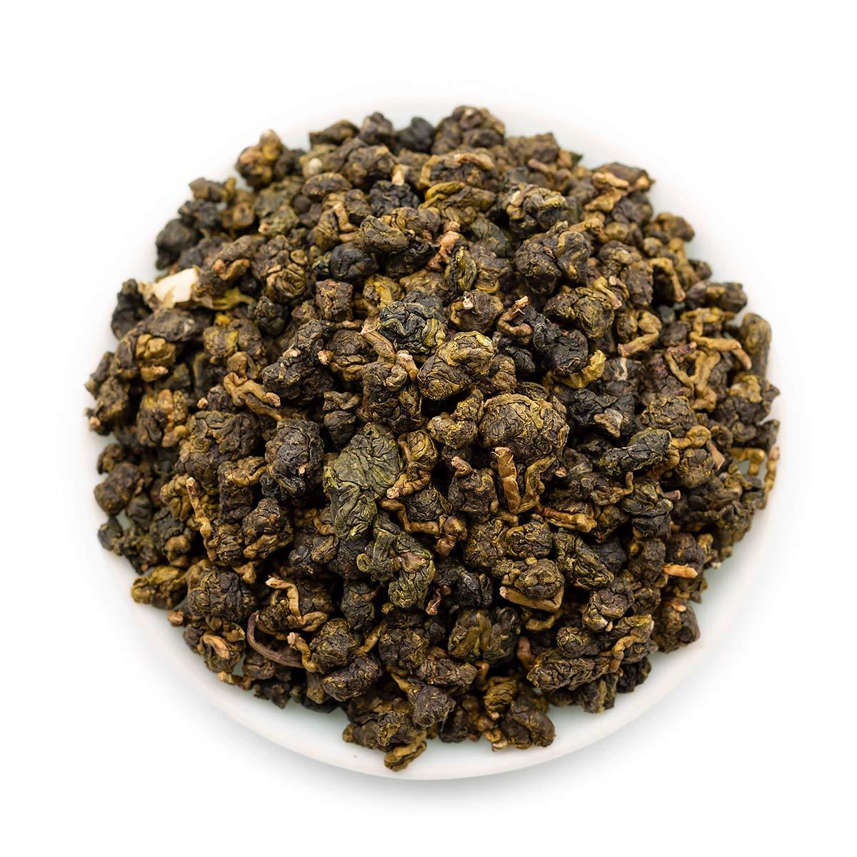 Oriarm Oolong Jasmine Tea Leaves - Taiwan High Mountain Oolong Tea Loose Leaf - Naturally Processed