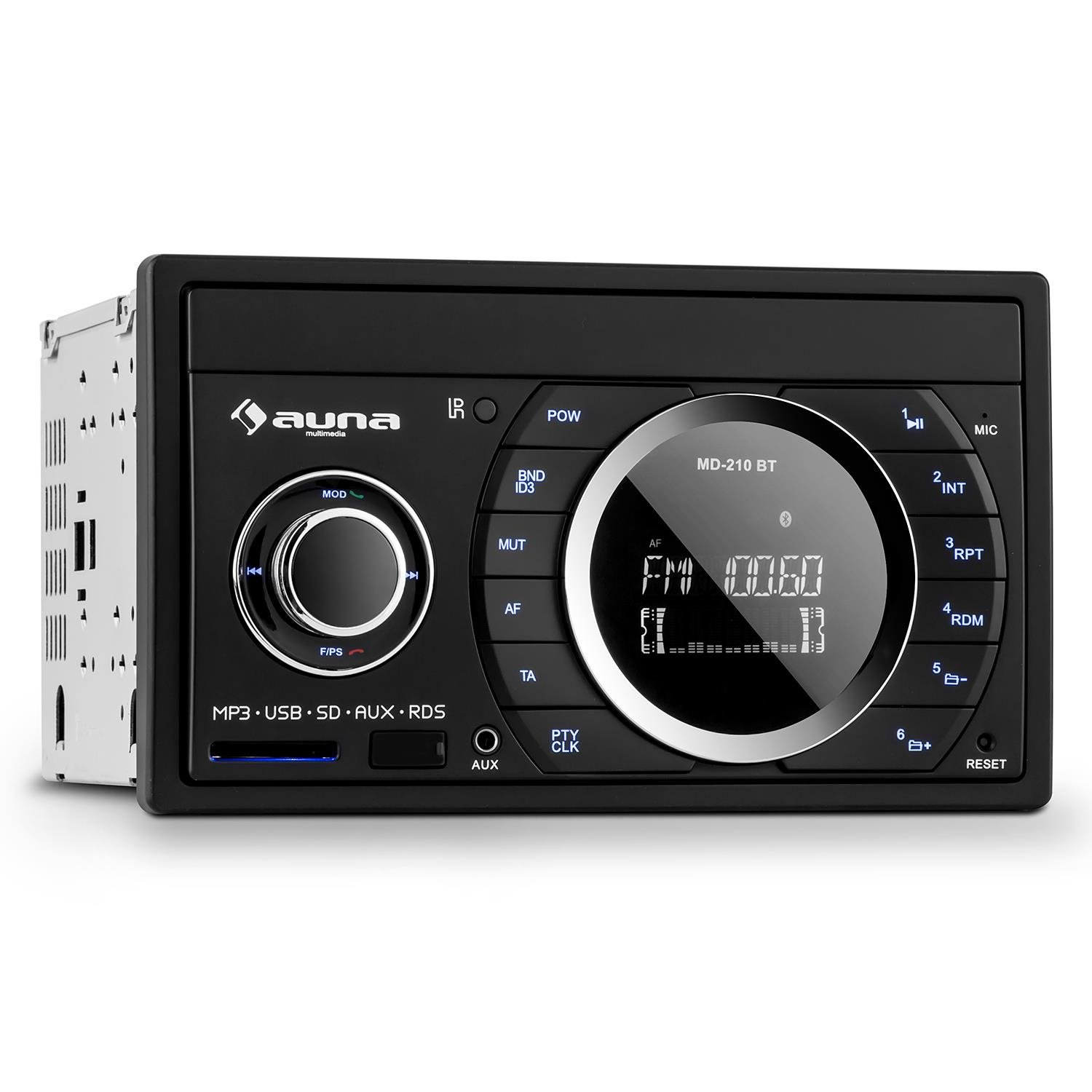 auna MD-210 BT Doppel Din Autoradio Bluetooth MP3: Amazon.de: Elektronik