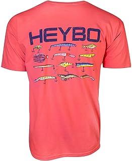 d184f2ea Amazon.com: Heybo Lure Flag Short Sleeve T-Shirt: Clothing