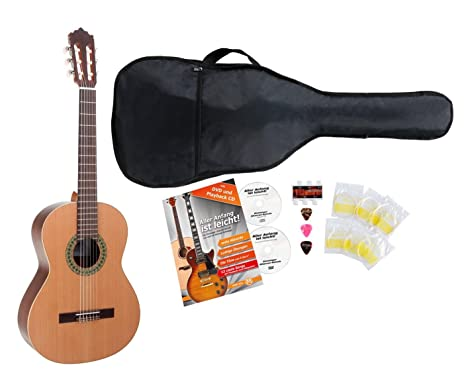 Set de Guitarra Clásica Antonio Calida GC201S 7/8 con 5 accesorios ...