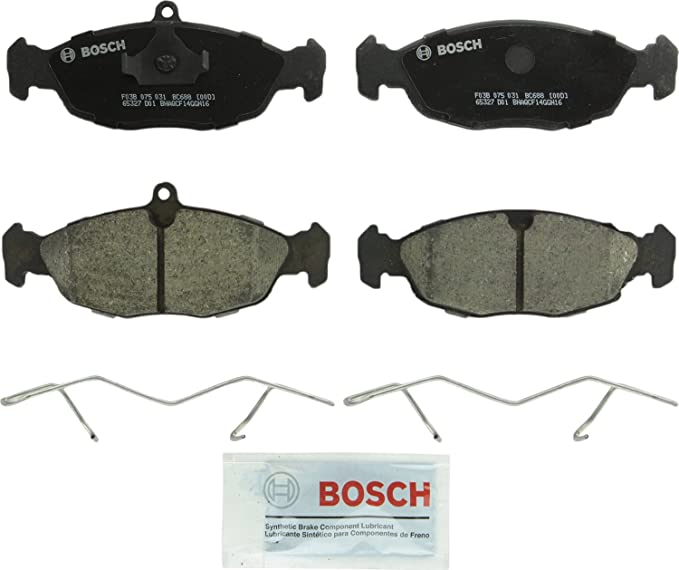 Amazon.com: Bosch BC688 QuietCast Premium Ceramic Disc Brake Pad Set For Jaguar: 1995-03 Vanden Plas, 1995-96 XJ12, 1995-97 XJ6, 1998-03 XJ8, 1995-02 XJR, 1995-96 XJS, 1997-06 XK8, 2000 XKR; Front & Rear: Automotive