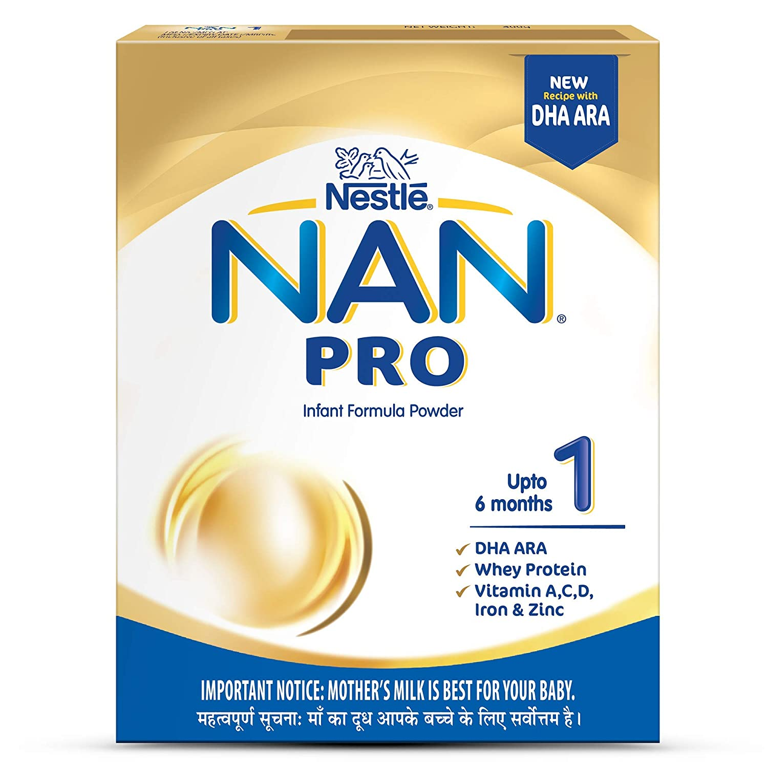 Dry milk formula Nestle NAN Triple comfort: reviews, composition 11
