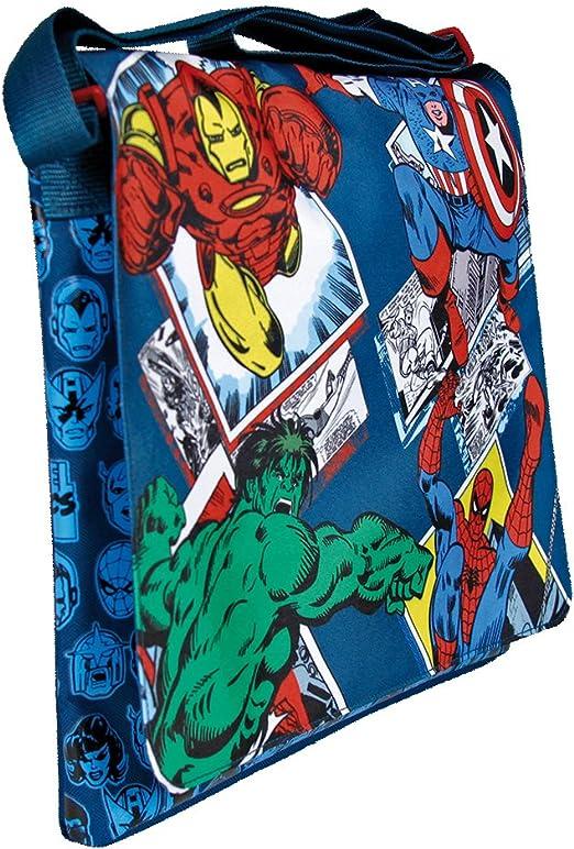 Borsa Tracollina Borsetta con Tracolla Regolabile Marvel Avengers Tempo Libero