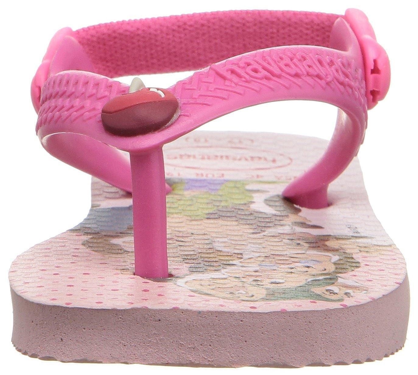 Infant//Toddler Havaianas Kids Flip Flop Sandals Baby Disney Cuties Pearl Pink K BABY DISNEY CUTIES SANDAL PEARL PINK