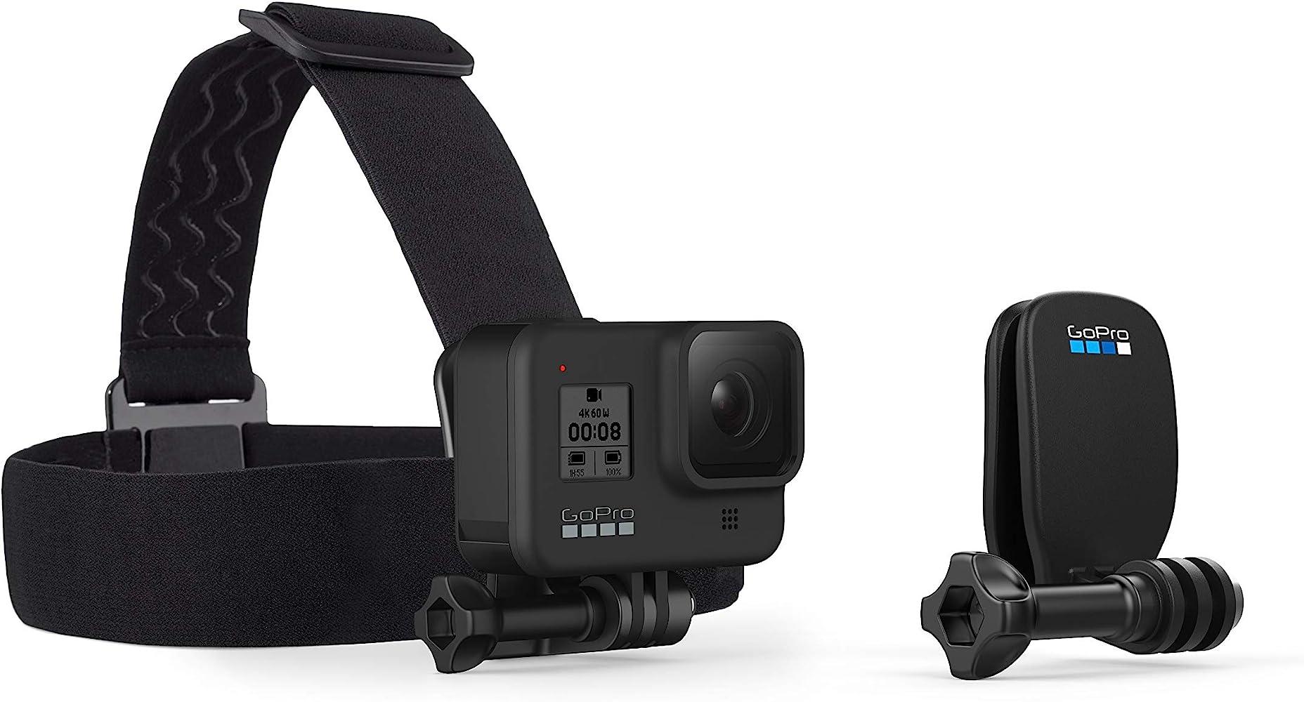 GoPro Headstrap + QuickClip - Pack de Accesorios para Cámara GoPro ...
