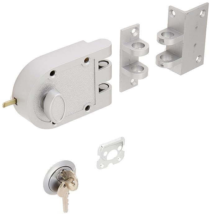 Amazon.com: Cerradura de puerta resistente a prueba de Jimmy ...