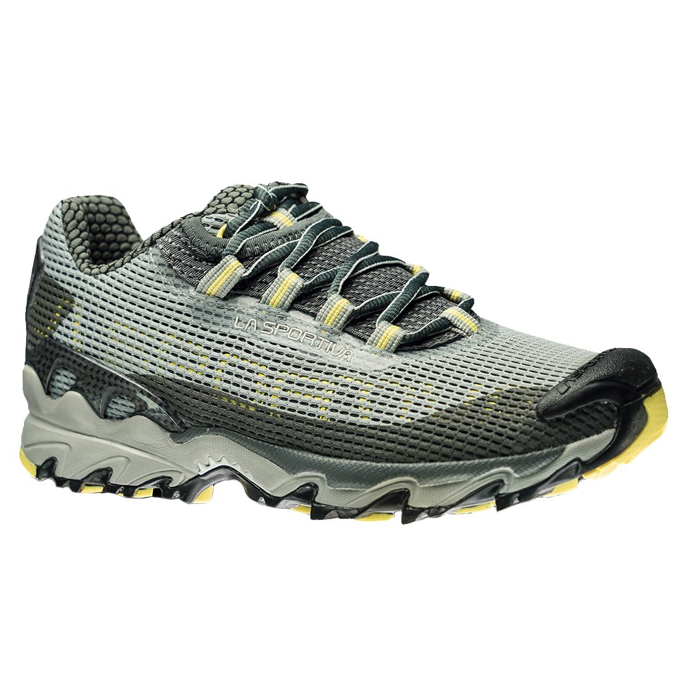 La Sportiva Women's Wildcat Trail Running Shoe B01K7WFMOY 39.5 M EU / 8 B(M) US|Grey/Butter