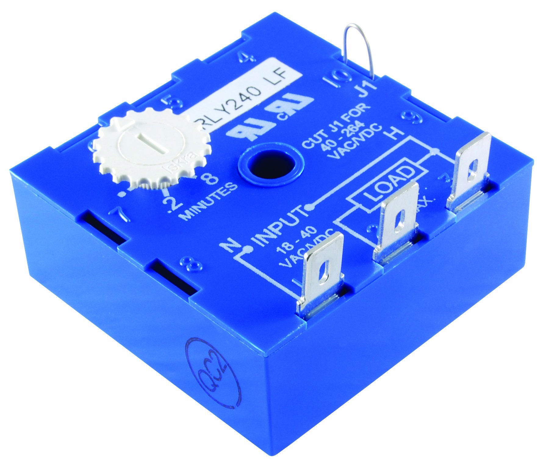 NTE ELECTRONICS RLY240 RELAY-SOLID STATE UNIVERSAL CUBE TIMER 19-288 AC/DC INTERVAL ON KNOB TIMING ADJUSTMENT