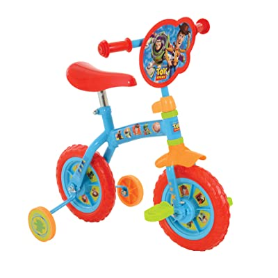 """Disney Toy Story M004057 2 in 1 10"""" Bike, Blue: Toys & Games"""