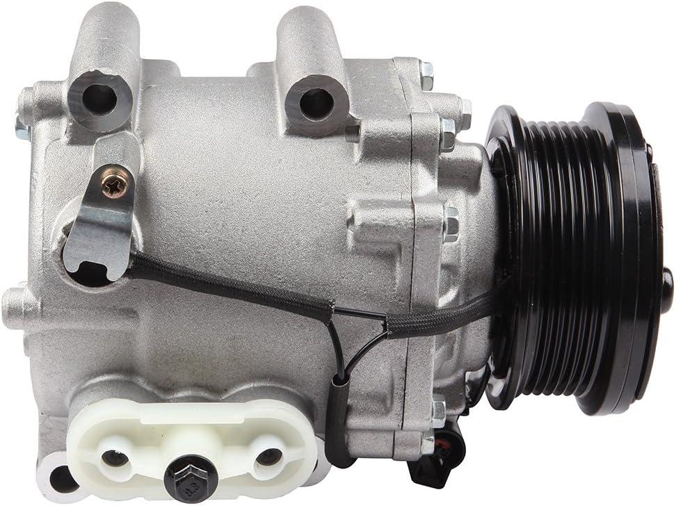 ECCPP Compatible fit for A//C Compressor fits CO 102530AC 2000-2006 Lincoln LS//Jaguar S-TypeFord Thunderbird