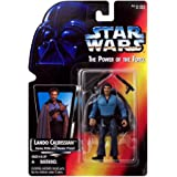 Star Wars –The Power of the Force 69583 – Action Figur – Lando Calrissian (with Heavy Rifle and Blaster Pistol)