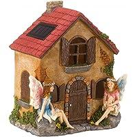 Dicoal 1020982 1020982-Casa de Hadas con luz 21x16