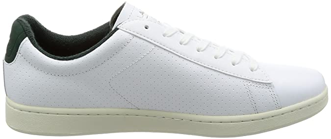 fa47f6e85 Lacoste Mens White Carnaby EVO 317 2 Trainers  Amazon.co.uk  Shoes   Bags