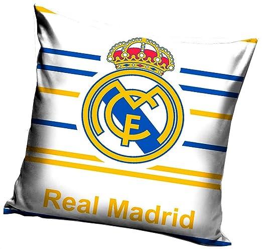Real Madrid - Cojín con cremallera, 100% algodón, art. 9294 ...