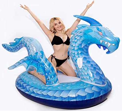 Amazon.com: DreambuilderToy Flotador inflable gigante de ...