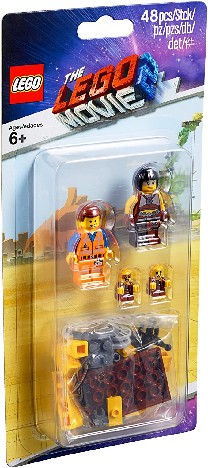 Amazon Com Lego Movie 2 Minifigure Pack 853865 Sewer Babies Emmet And Sharkira 48 Pieces Toys Games